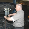 A Motor Works Technician performs an injector and intake cleaning (decarbonization) on a Chevy Trail Blazer