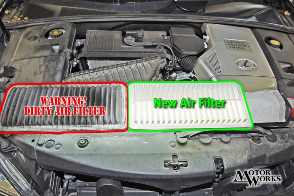 WARNING! DIRTY AIR FILTERS DESTROY ENGINES! YIKES!