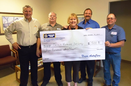 AutoCare Group Gives Donation to Local Cause